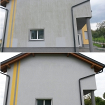 Veralgte Fassade