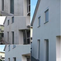 Fassade wie neu, ohne Algen